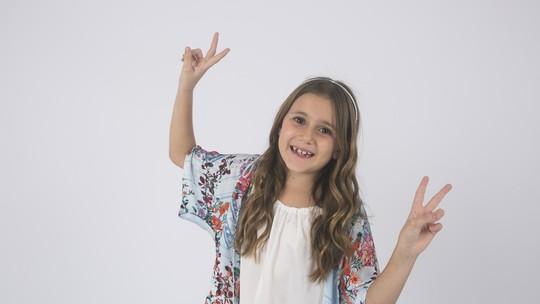 Conheça Bia Rosa, participante do 'The Voice Kids'