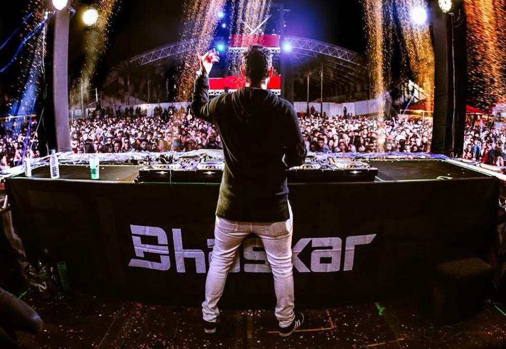 Bhaskar é uma das atrações da Festa Euro — Foto: Divulgação