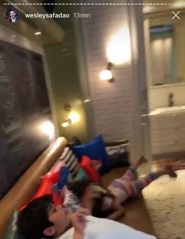 Wesley Safadão mostra quarto dos filhos (Foto: Reprodução/Instagram)