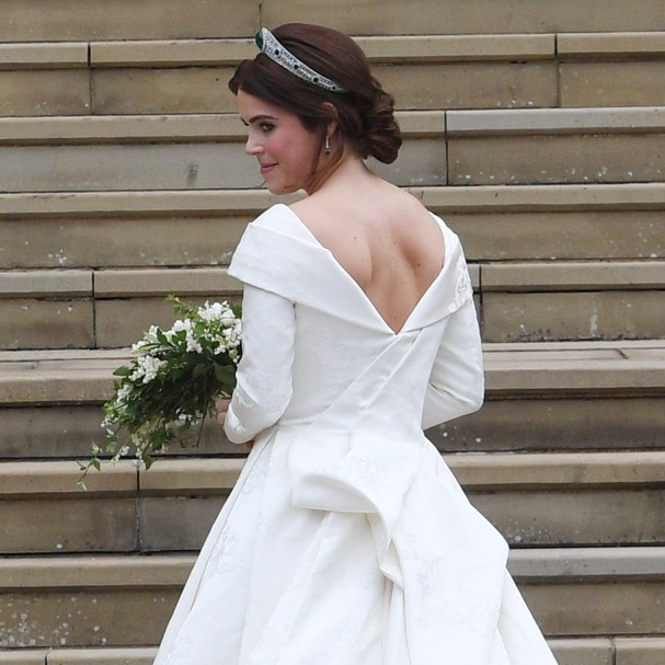Princesa Eugenie se casa no Castelo de Windsor com Jack Brooksbank  (Foto: Getty Images )