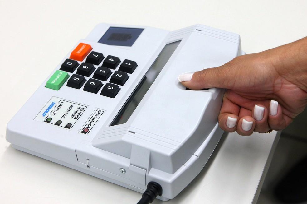 Biometria será obrigatória em cerca de 4.500 cidades — Foto: Roberto Jayme/Ascom/TSE