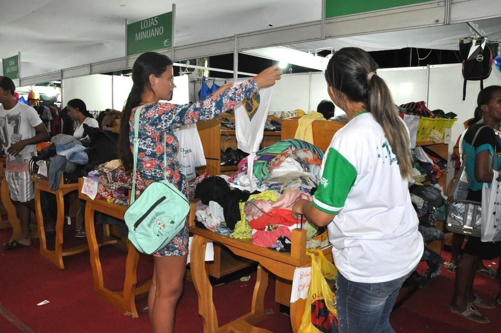 Organização espera movimentar cerca de R$ 2 milhões durante a feira (Foto: CDL/Divulgação)