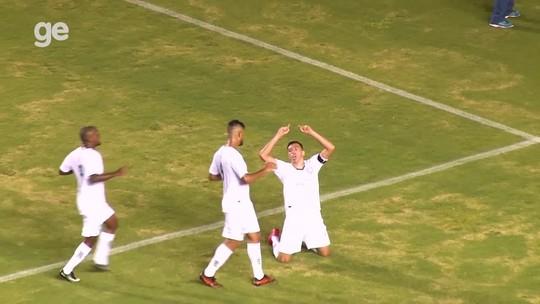 Lúcio marca seu primeiro, e Gama vence Santa Maria de virada em jogo de 7 gols