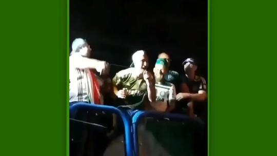 Luan, do Palmeiras, xinga Sassá, do Cruzeiro, em festa; jogadores provocam Flamengo e Atlético-MG