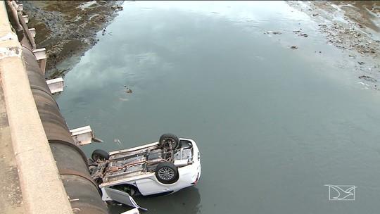 Mulher relata momento em que caiu de ponte em São Luís