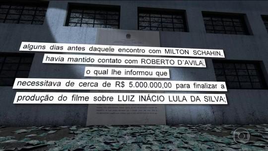 Palocci diz que mandou empresa usar propina para financiar filme sobre Lula feito pela produtora do jornalista Roberto D'Avila