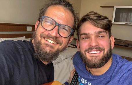 Filho do cantor Saulo Fernandes, João Lucas fará sua estreia na TV na segunda temporada da série 'Juacas', do Disney Channel. Ele interpretará Matteo, um surfista Reprodução Instagram