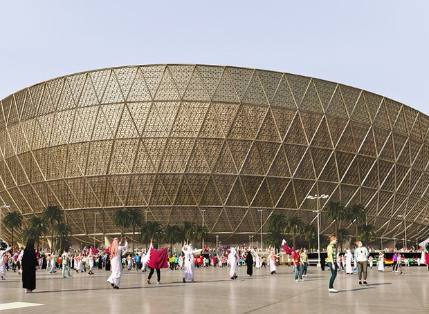 estadio-lusail (Foto: Divulgação)