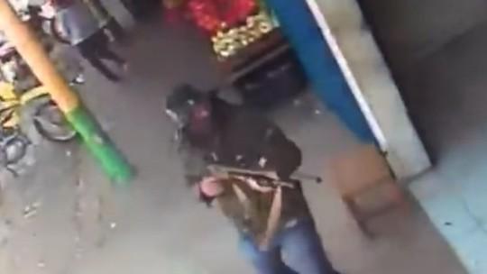 Vídeo mostra ação violenta de criminosos durante assalto à lotérica no Norte do Piauí