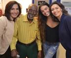 Nelson Sargento nos bastidores de 'A foça do querer' | Ronaldo Mattos