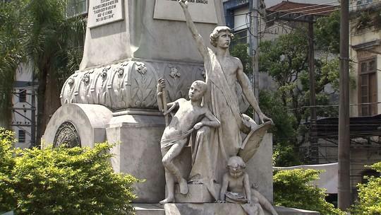 Rota do Sol mostra o 'museu a céu aberto' em Santos neste sábado (27)