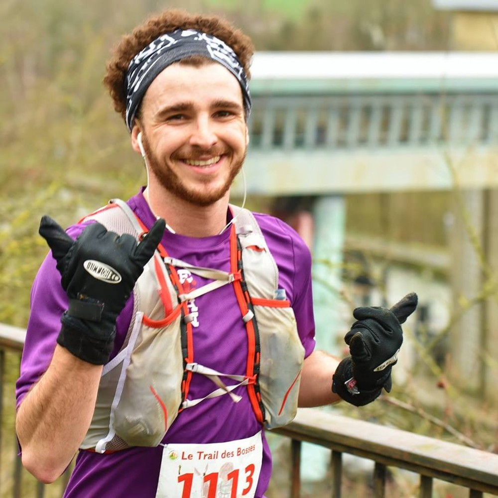 Ralph Mesquita em prova de 50 km (Foto: Divulgação/Eurocross for a cause)
