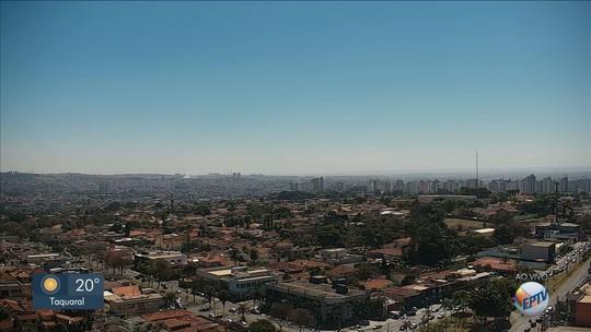 Ribeirão Preto registra temperatura mais fria do inverno neste sábado