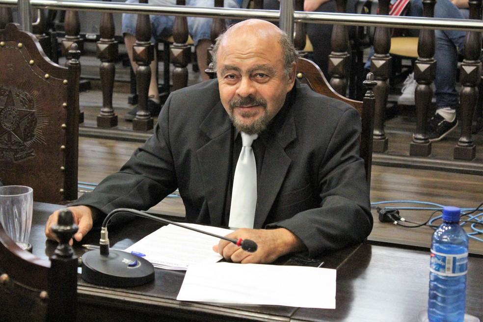 """Vereador Zé Mineiro (PSB), criador da lei, conta que sofreu chacotas e foi chamado de """"Zé da Carambola"""" (Foto: Angelo Boaventura/Câmara de Jaú/Divulgação)"""