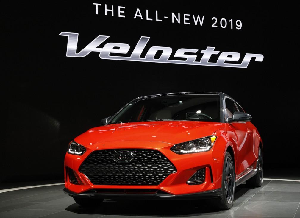 Hyundai mostra nova geração do Veloster nos EUA (Foto: Brendan McDermid/Reuters)