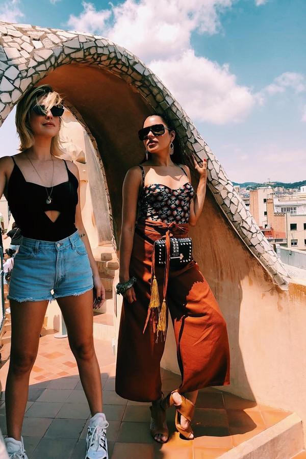 Fê Paes Leme e Marina Morena (Foto: Instagram/Reprodução)