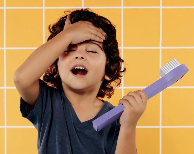 Escovar os dentes (Foto: Raquel Espírito Santo)