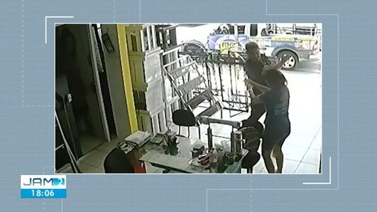 Empresário filmado ao agredir a própria esposa com tapas e chutes é preso em Manaus