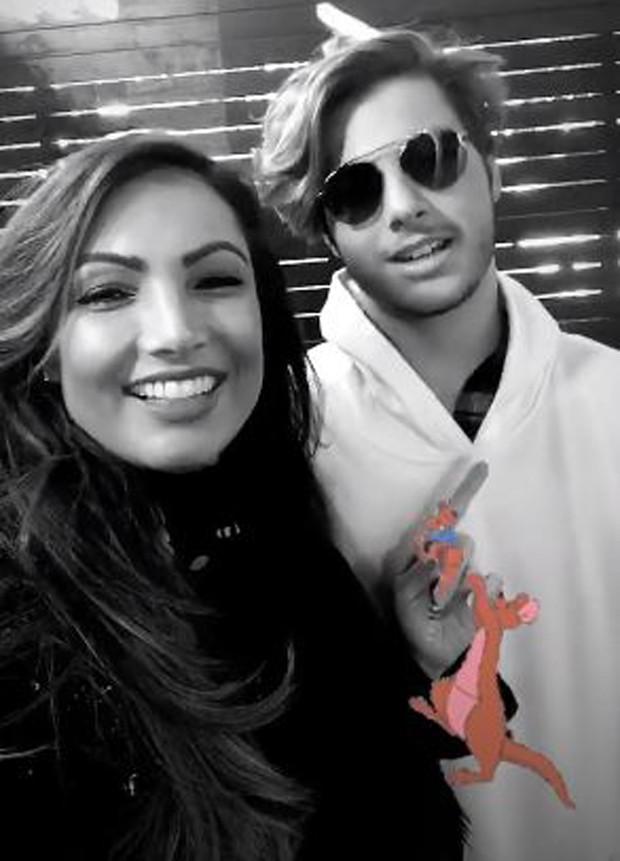 Patrícia Poeta e o filho, Felipe Soares Poeta (Foto: Reprodução/Instagram)