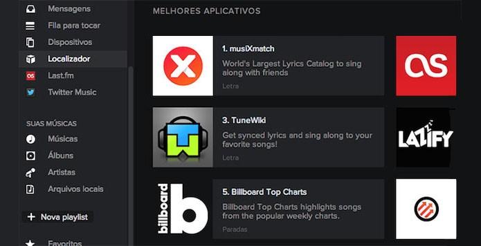 Localizador de apps será removido do Spotify para Windows e Mac (Foto: Reprodução/Paulo Alves)