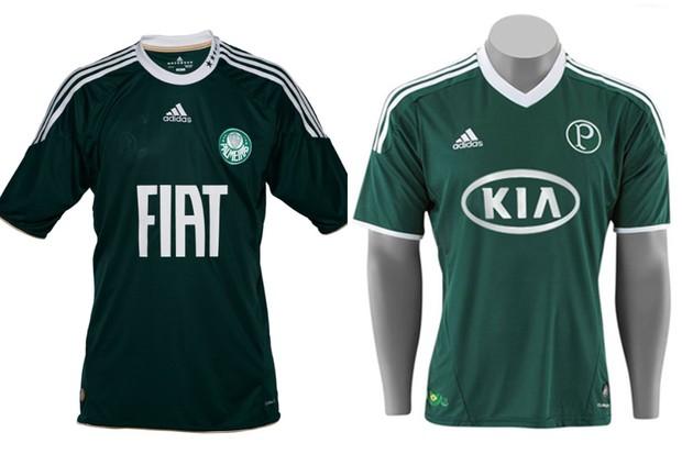 Palmeiras já foi patrocinado pela Fiat e pela Kia Motors (Foto: Divulgação)