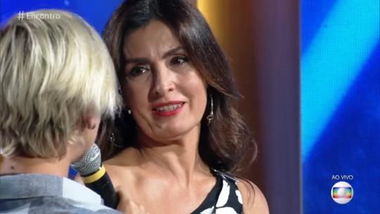 Fátima Bernardes se emociona com surpresa do irmão de Fernanda de Freitas; assista