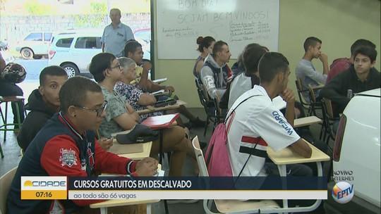 Descalvado, SP, oferece 66 vagas gratuitas em 5 cursos profissionalizantes do Senai