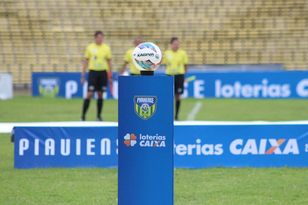 Campeonato Piauiense vai estampar marcas do banco no returno da competição (Foto: Stephanie Pacheco)