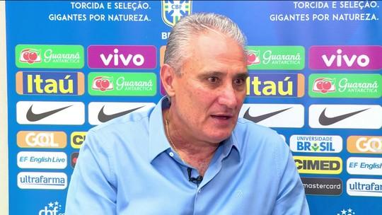 """Tite destaca equilíbrio do grupo do Brasil: """"Em outros, se vê equipes em nível menor"""""""