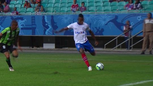 Melhores momentos de Bahia 1 x 0 América-MG pela 18ª rodada do Campeonato Brasileiro