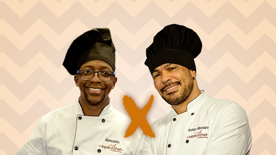 Mumuzinho e Rodrigo Minotauro estão na Panela de Pressão do 'Super Chef'