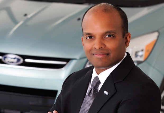 Raj Nair, presidente da Ford para América do Norte, em imagem de 2012 (Foto: Divulgação/Ford)