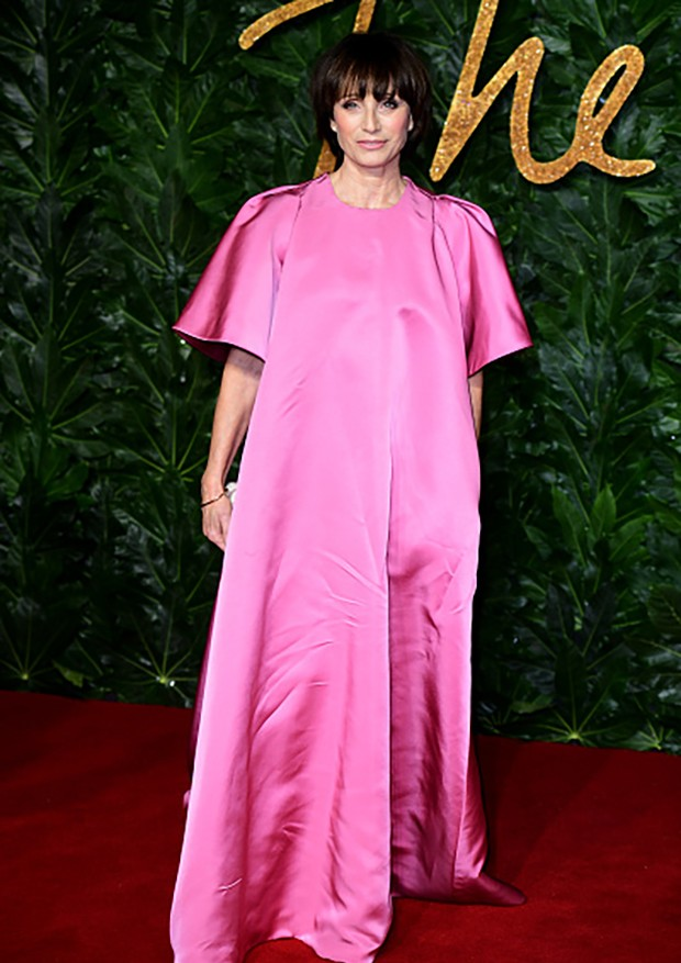 Kristin Scott Thomas attending the Fashion Awards in association with Swarovski held at the Royal Albert Hall, Kensington Gore, London. (Photo by Ian West/PA Images via Getty Images) (Foto: PA Images via Getty Images)