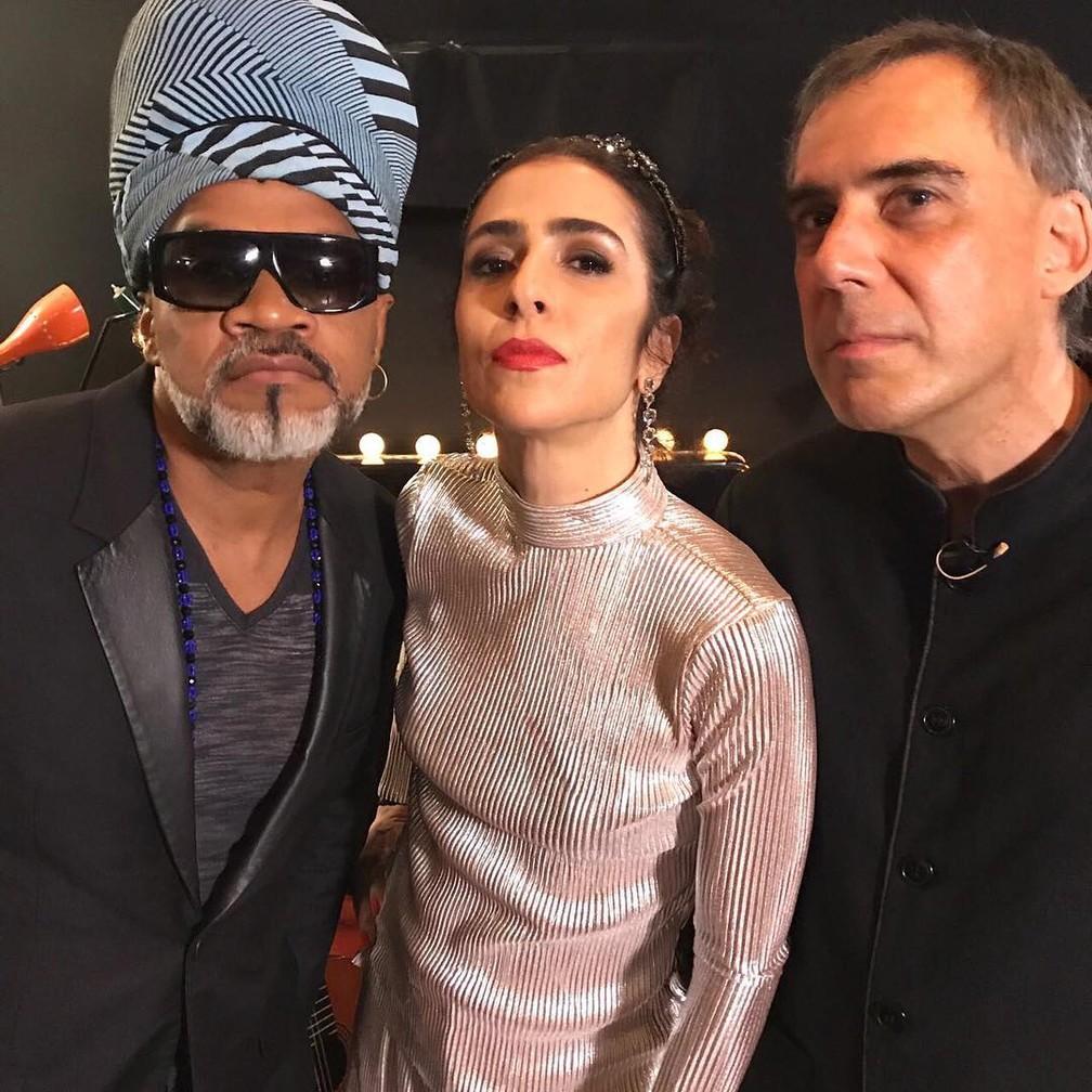 Tribalistas estão de volta: Marisa Monte, Arnaldo Antunes e Carlinhos Brown  (Foto: Reprodução/Instagram)