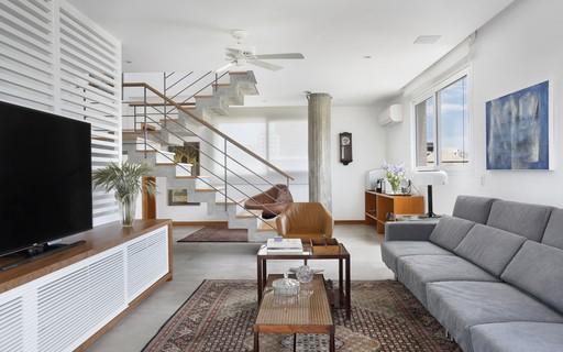 Apartamento perde paredes e ganha iluminação natural e sensação de amplitude