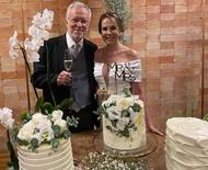 Jornalista Alexandre Garcia se casa aos 79 anos em Brasília
