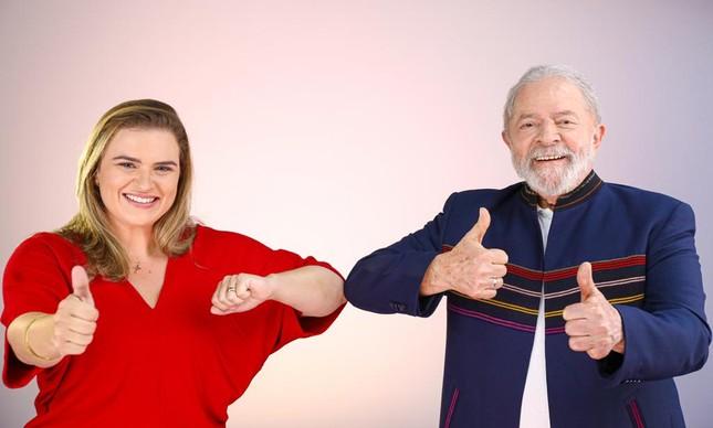 Marília Arraes e Lula