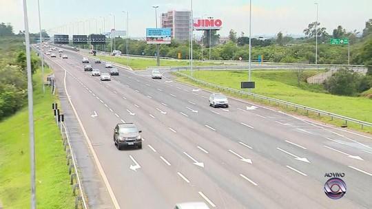 Cerca de 165 mil veículos devem retornar do Litoral Norte somente pela freeway