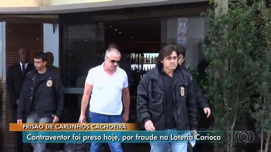 Carlinhos Cachoeira é preso em Goiânia por fraudes na loteria carioca