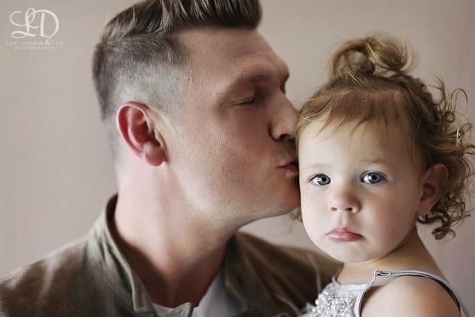 Nick Carter faz ensaio com a família (Foto: Reprodução/Instagram)