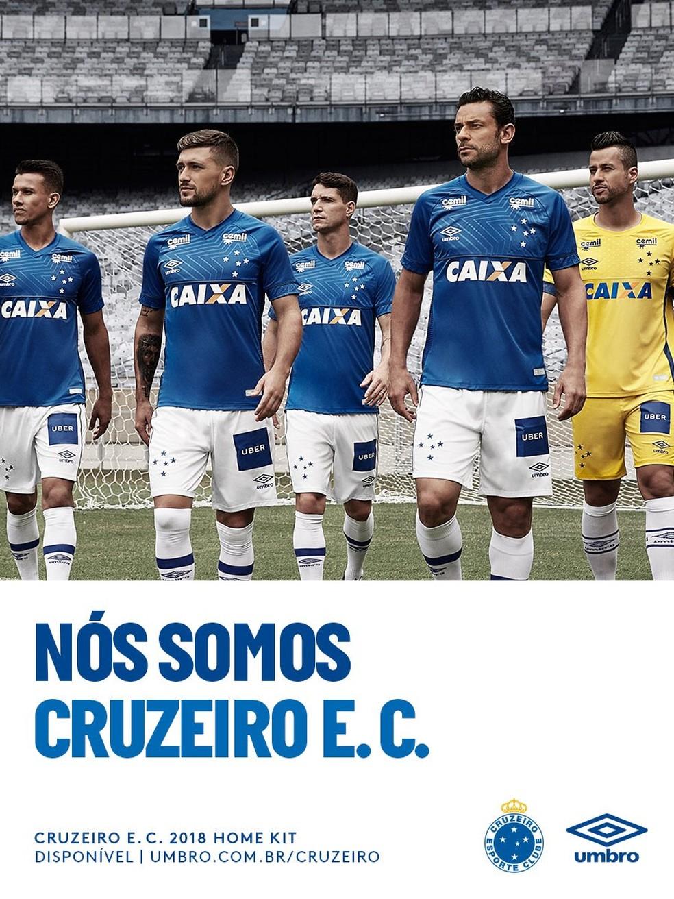 141c3ad8d2 ... Nova camisa do Cruzeiro