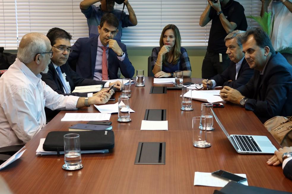 TAC foi assinado na tarde desta sexta-feira (Foto: Bruno Concha/Secom)