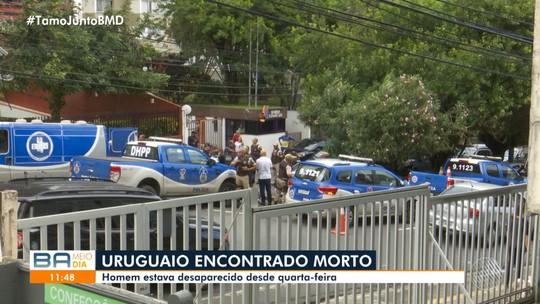 Uruguaio é encontrado morto no bairro dentro de carro no bairro da Graça