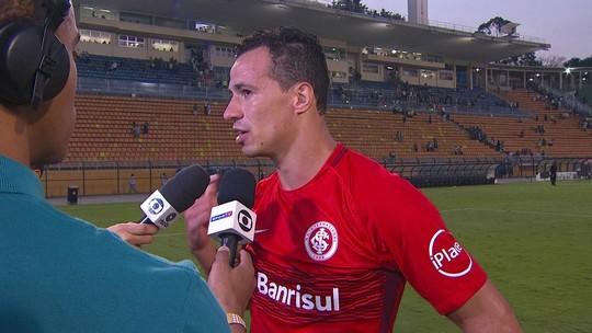 """Damião avalia derrota para o Palmeiras: """"Fizemos um grande jogo"""""""