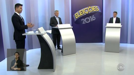 Udo Döhler e Darci de Matos participam de debate na RBS TV
