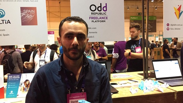 David Movsisyan, fundador da Odd Republic (Foto: Editora Globo)