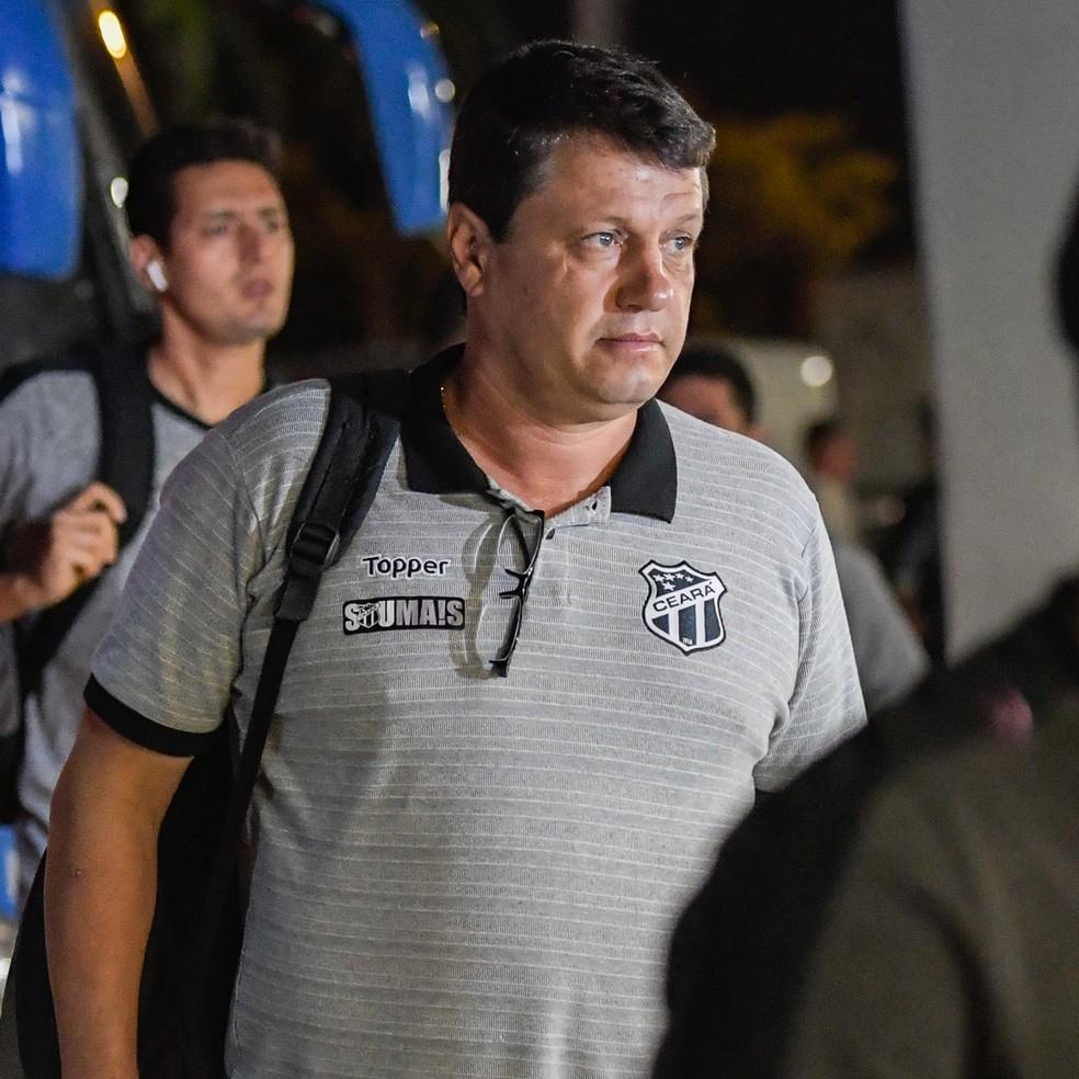 Adílson Batista foi demitido do Ceará após a derrota para o Flamengo — Foto: Jorge R Jorge/BP Filmes
