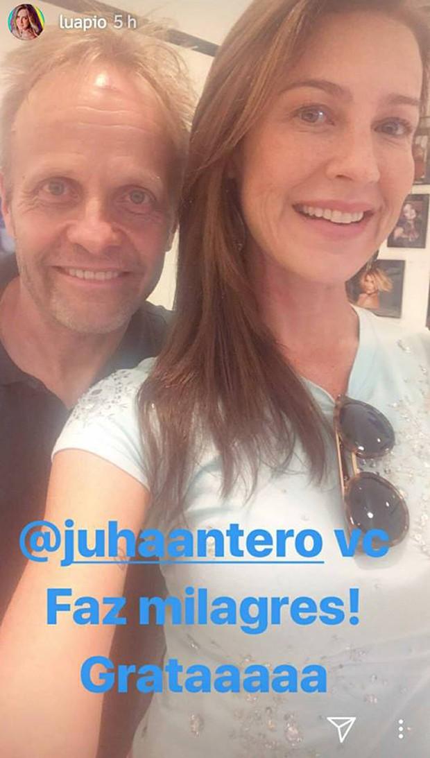 Luana Piovani e Juha Antero (Foto: Reprodução/Instagram)