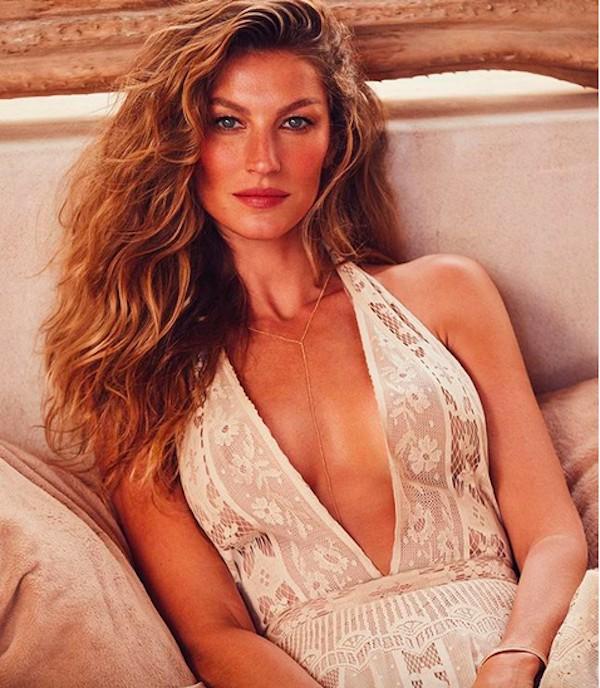 A modelo brasileira Gisele Bündchen (Foto: Instagram)