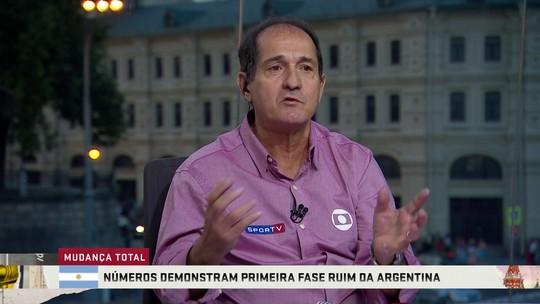 """Muricy diz que Sampaoli perdeu comando da Argentina e critica  Mascherano por reunião: """"Tem que fazer isso no vestiário"""""""